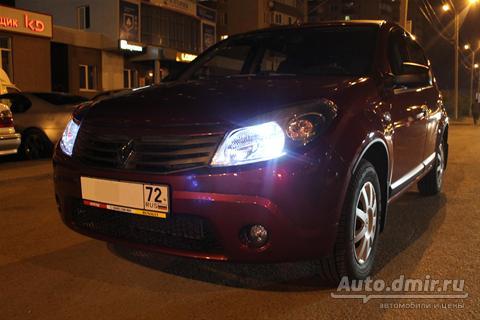 купить renault sandero рено сандеро 2012 г.в. в тюмени по цене 420000 руб. autodmir.ru автомобили и цены